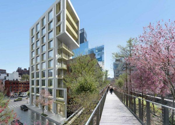 Hudson Yard Apartamentos de lujo 500 West 25 Street High Line