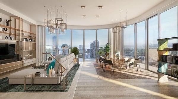 Flatiron Penthouse Miami condominios en venta Brickell