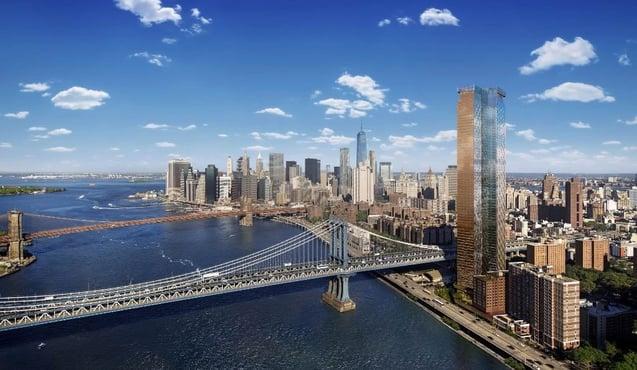 Reducción de impuestos en 20 años One Manhattan Square