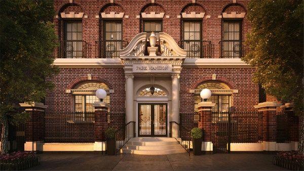 Residencias de lujo Park Mansion de piso completo NY