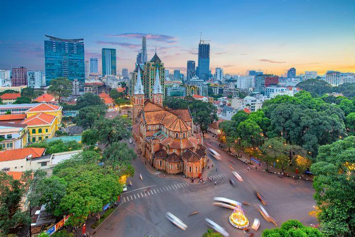 Ciudad de Saigón Ho Chi Minh