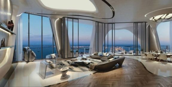 Zaha Hadid Miami luxury buildings